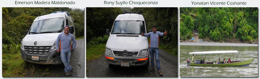 Professional Drivers - Transports - Manu Tours Peru
